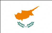 CYPRUS - HAND WAVING FLAG (MEDIUM)